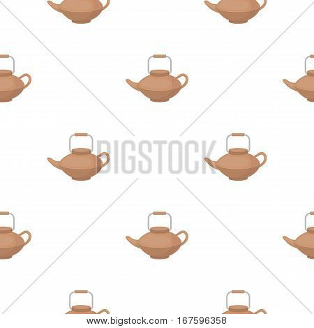 Tetsubin icon in cartoon style isolated on white background. Sushi pattern vector illustration. - stock vector