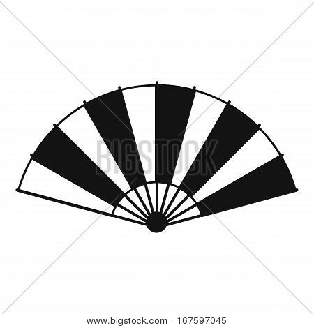 Chinese fan icon. Simple illustration of chinese fan vector icon for web