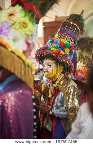 San Sebastian Celebration Mask