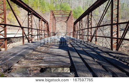 Burnt Mill Bridge at Big South Fork National River and Recreation Area
