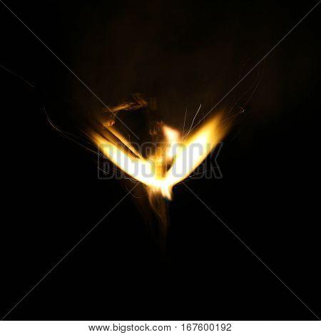 Beautiful Fire Light