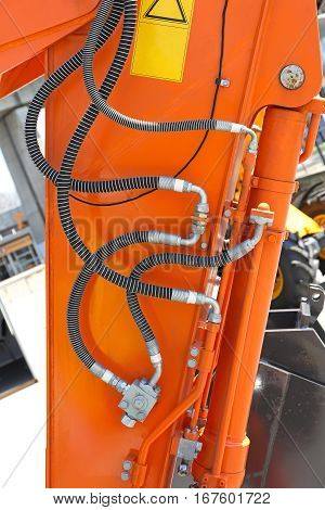 Hydraulic Pipes and Hoses at Construction Machinery