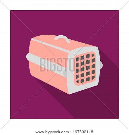 Pet case icon of vector illustration for web and mobile design - stock vector