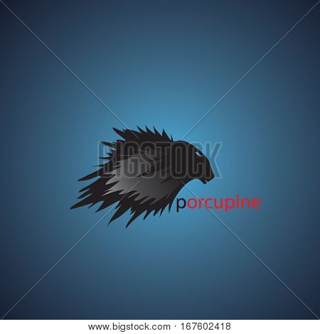 porcupine ideas design vector illustration on background