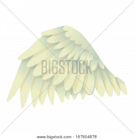 Goose wing icon. Cartoon illustration of goose wing vector icon for web