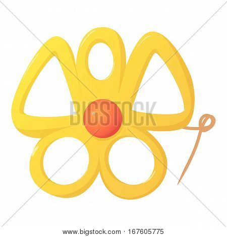Accessory icon. Cartoon illustration of accessory vector icon for web