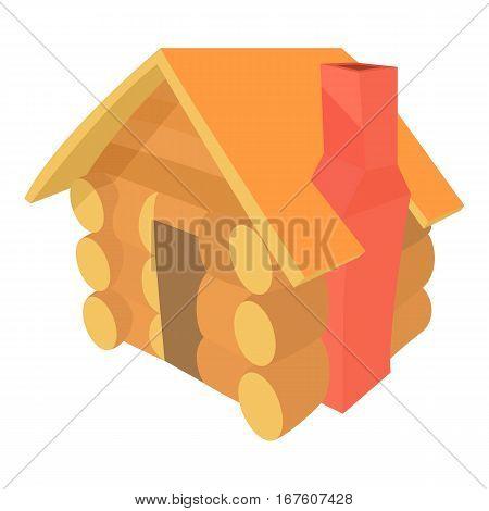 Small hut icon. Cartoon illustration of small hut vector icon for web