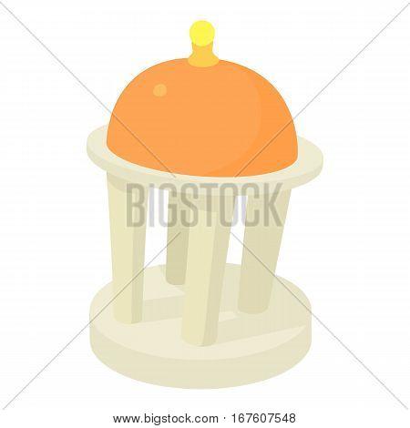 Rotunda icon. Cartoon illustration of rotunda vector icon for web