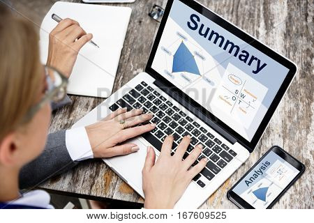 Improvement Summary Business Venture Business
