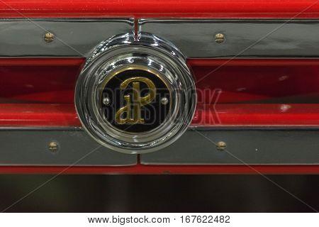 Dupont Vintage Car Emblem