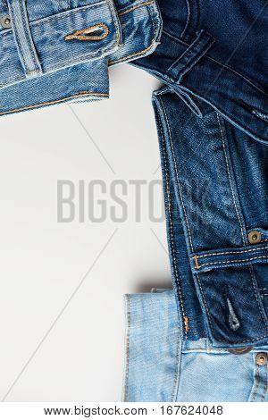 Blue Jeans Boarder Frame