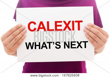 Calexit What's Next