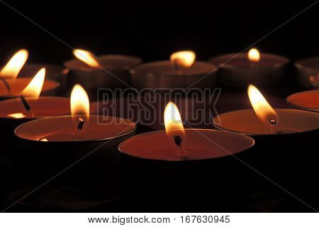 Background With Candles
