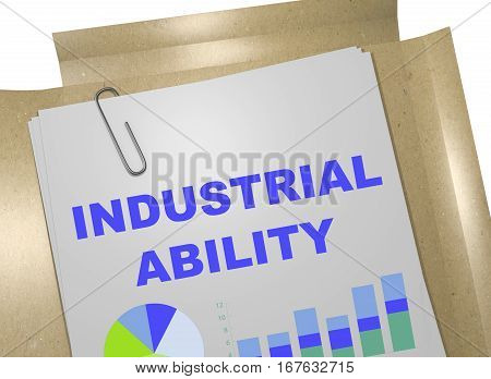 Industrial Ability - Business Concept