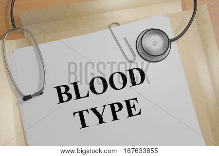 Blood Type - Medical Concept