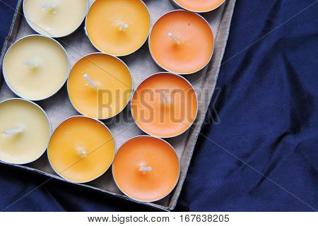 Scented Candles And Matches