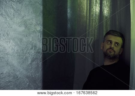 Man Experiencing The Separation