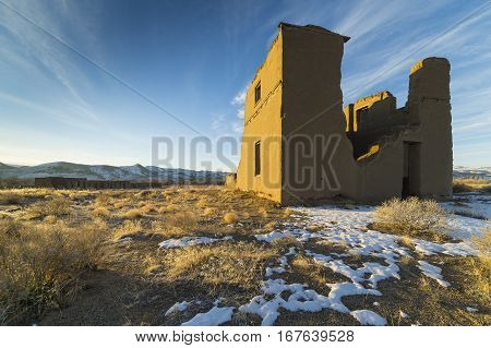 Fort Churchill State Park is a state park of Nevada, USA, preserving the remains of a United States Army fort and a waystation on the Pony Express and Central Overland Routes dating back to 1860.