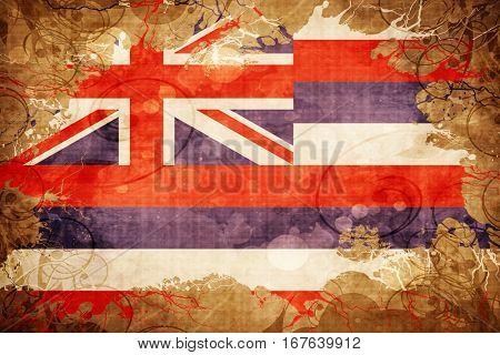Vintage hawaii flag