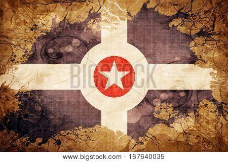 Vintage Indianapolis flag
