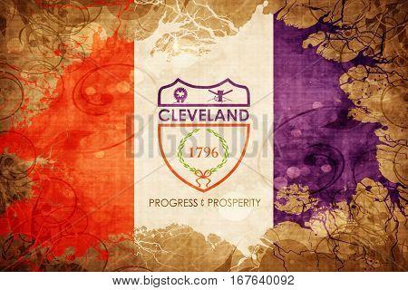 Vintage Cleveland flag