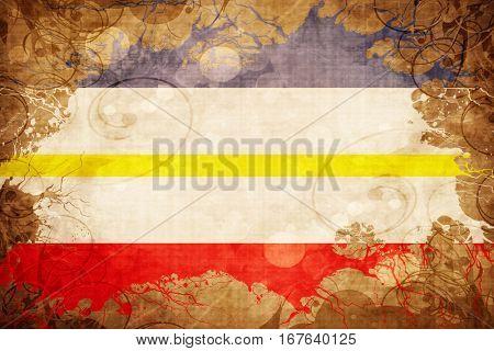Vintage Mecklenburg vorpommern flag