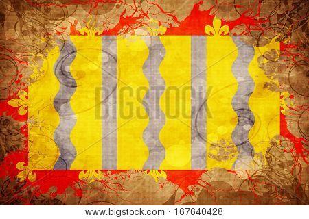 Vintage Cambridgeshire flag