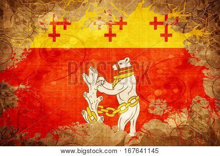 Vintage Warwickshire flag