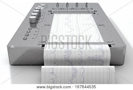Polygraph Lie Detector Machine