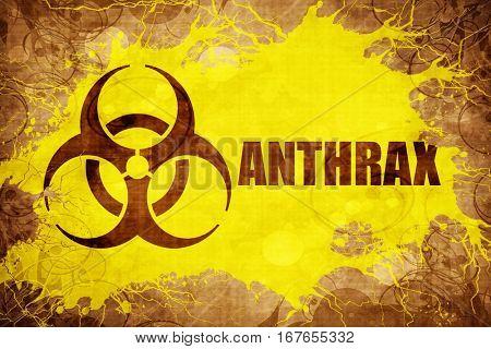 Grunge vintage Anthrax
