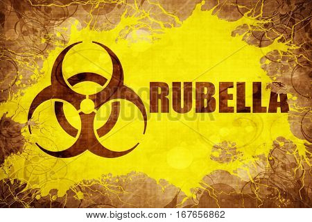 Grunge vintage Rubella