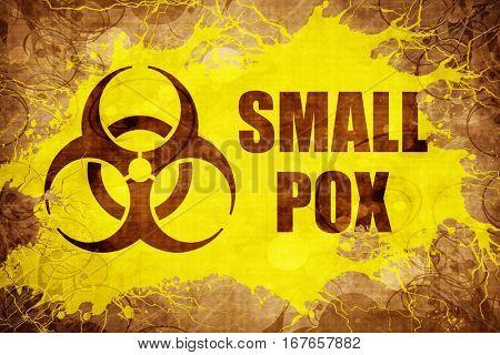 Grunge vintage Smallpox