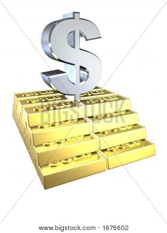 Gold And Dollar