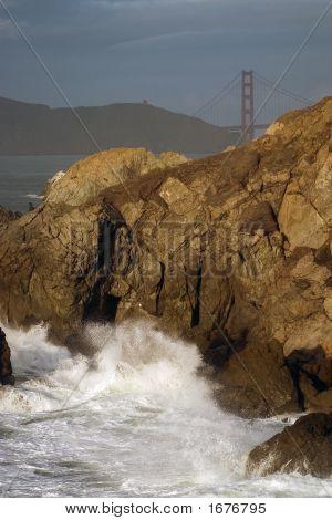 Fisherman In Rock