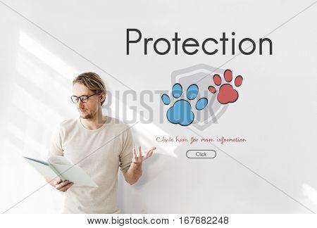 Insurance Coverage Mix Reimbursement Protection Concept