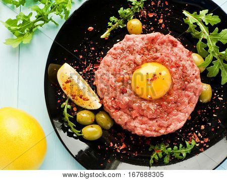 Beef Tartar With Spices