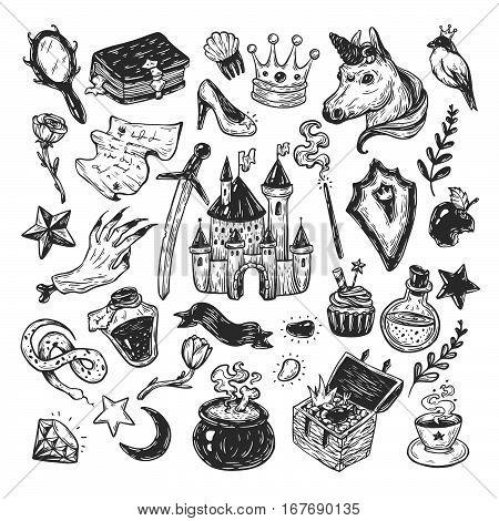 Fairy Tale, Set.