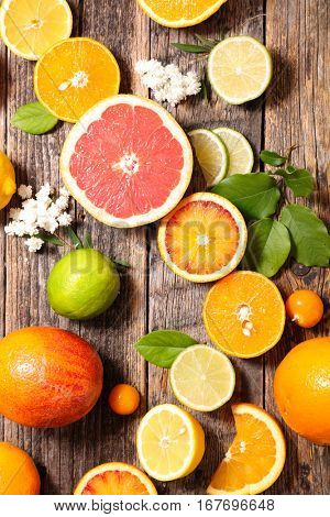 lemon,orange,grapefruit