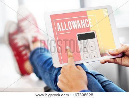 Allowance Money Calculation Balance Income