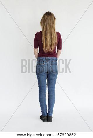 Caucasian Girl Portrait
