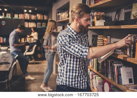 Young People In The Library