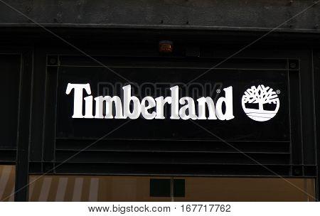 Timberland Store In Amssterdam