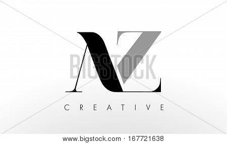 A Z Letter Logo Design. Creative Modern AZ Letters Icon Illustration.