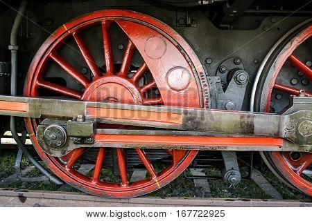 Wheels a historic steam, lock, railway, nostalgia