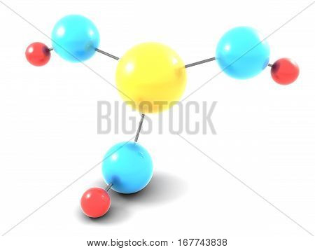 atom chemical science 3d education molecule microscopic