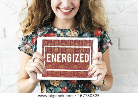 Energized Positivity Freedom Liberation Optimistic