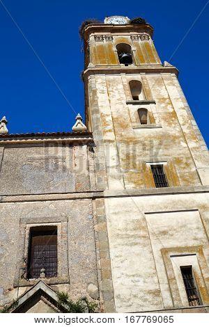 Fuente de Cantos in Extremadura of Spain by Via de la Plata way