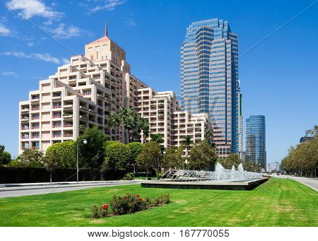 Downtown Century City in Los Angeles California