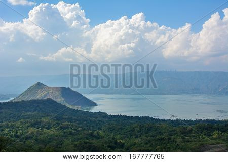 Taal Volcano, Luzon Island of the Philippines