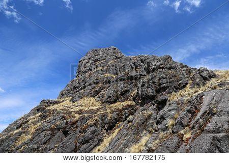 las rocas son fáciles de escalar cuando estas listo